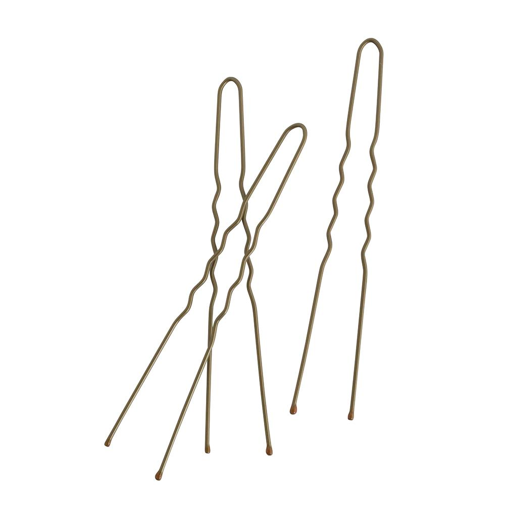 Hair Pins 7.5cm Brown (30)