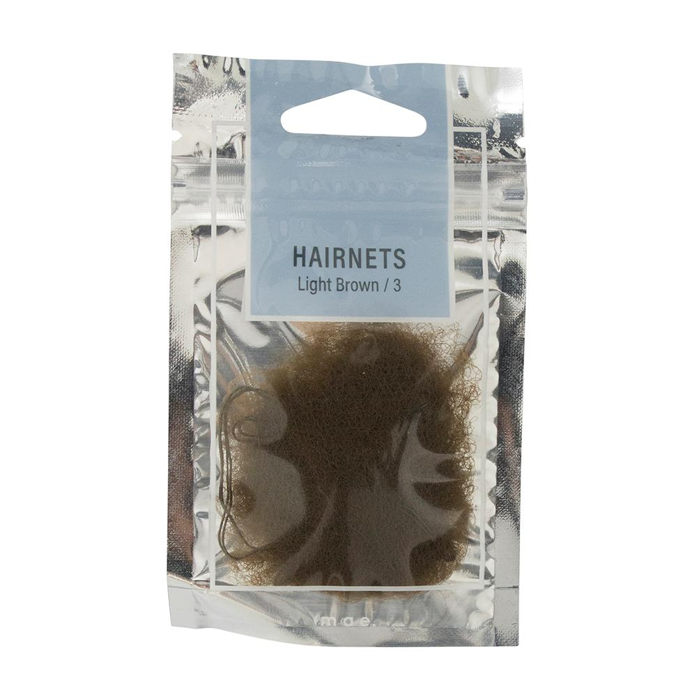 Hairnets Light Brown (3)