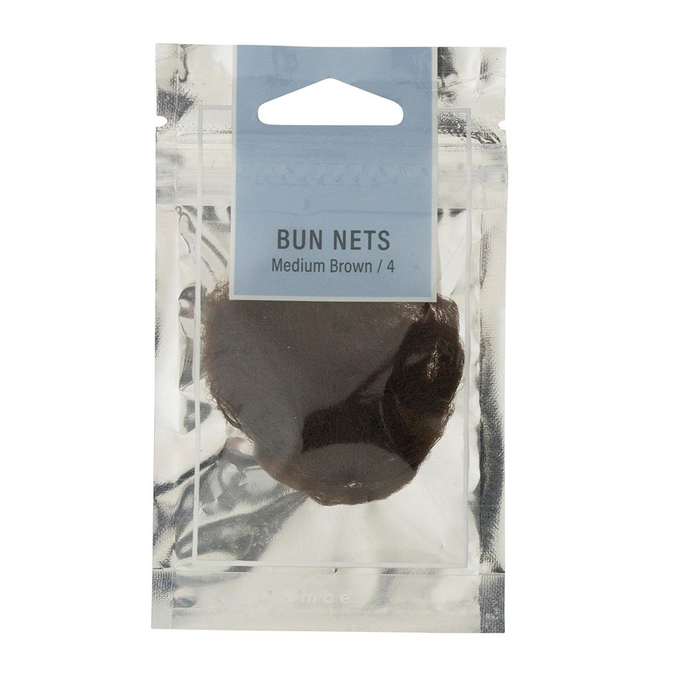 Bun Nets Medium Brown (4)