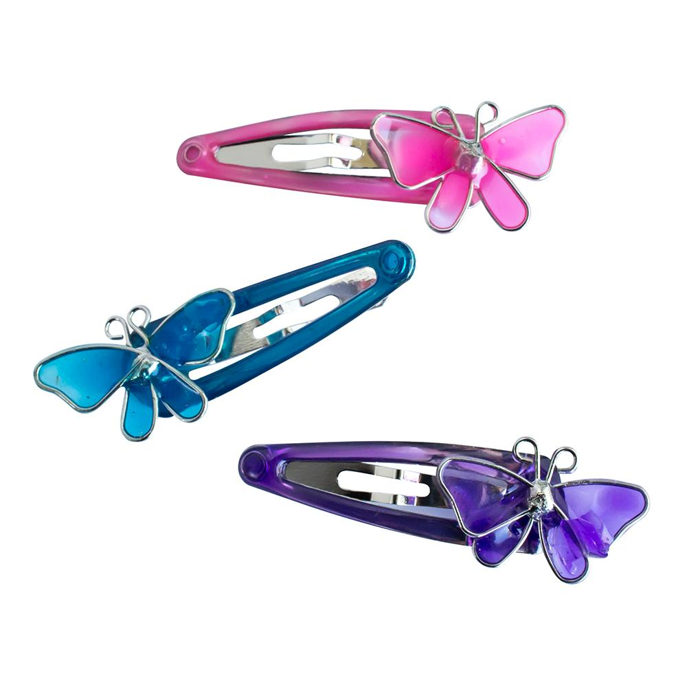One Touch Clips 4cm Butterflies (6)