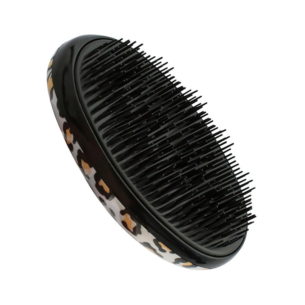 Brush D-Tangler  Oval Leopard