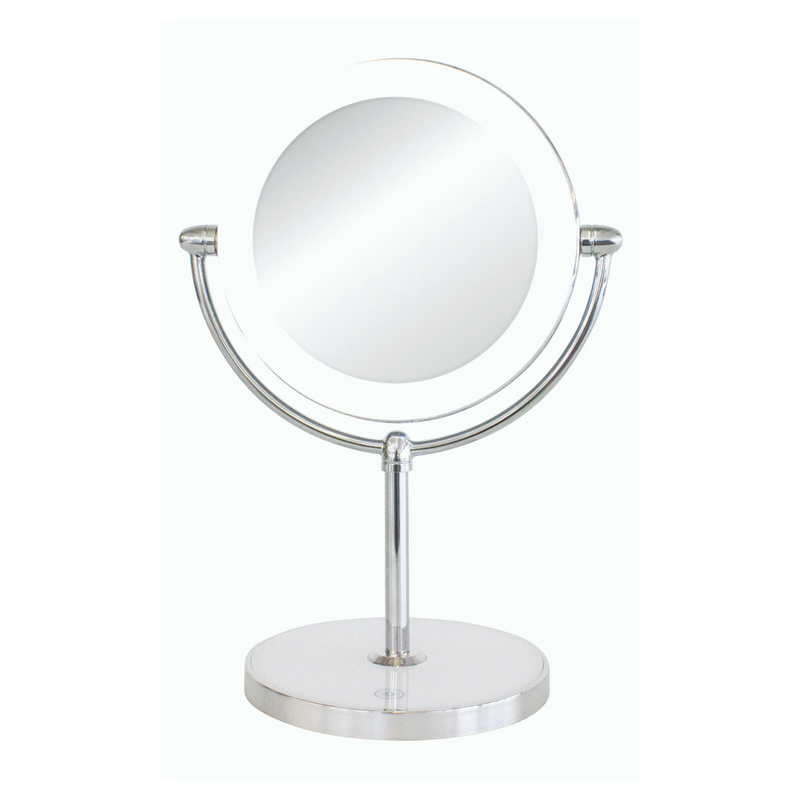 Double Sided Vanity Mirror with LED