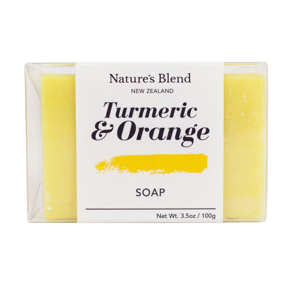 Turmeric & Orange Oil Soap 100g