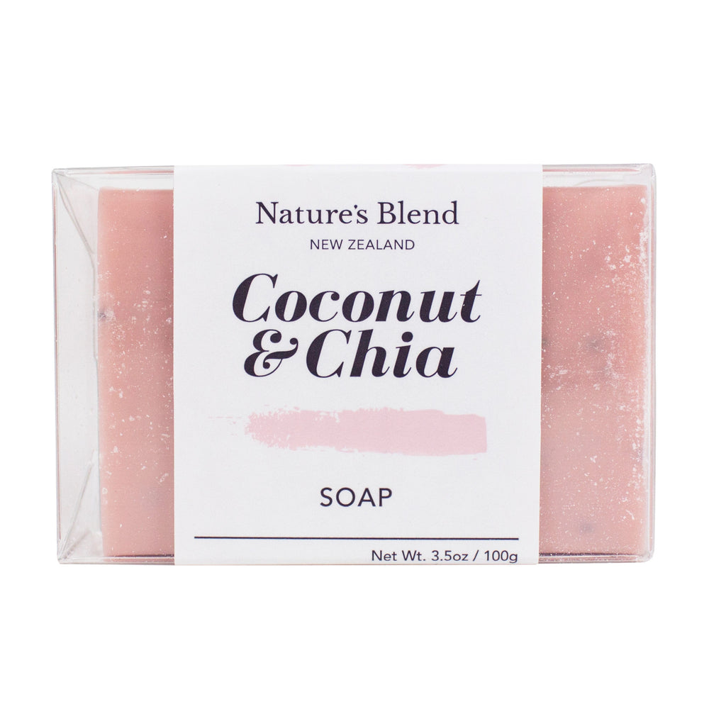 Coconut & Chia Soap 100g