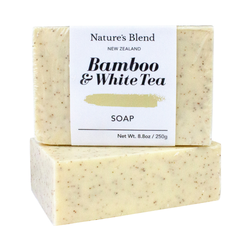 Nature's Blend Soap Bar Bamboo & White Tea - 250g