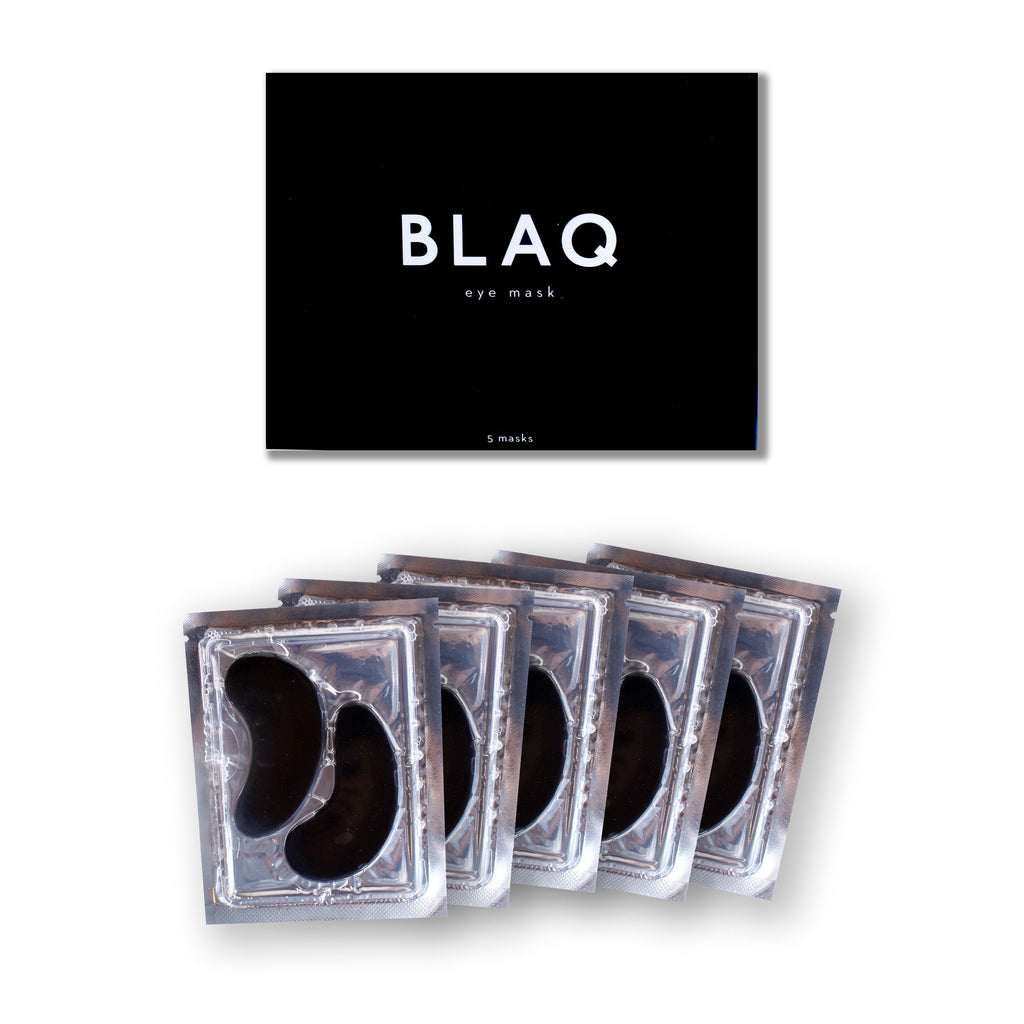 Blaq Hydro Gel Eye Masks 5 Pack