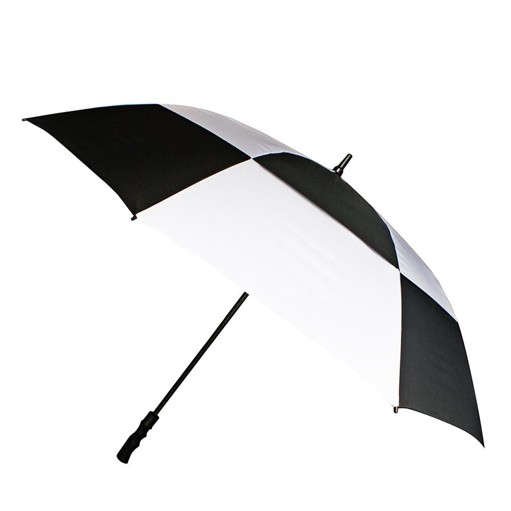 Big Brolly - Auto Open (Wind Canopy) Black and White