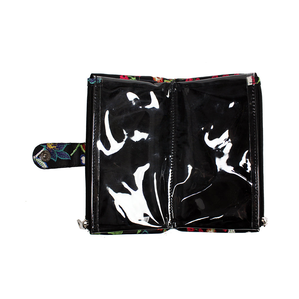 Embroidery Purse - Black