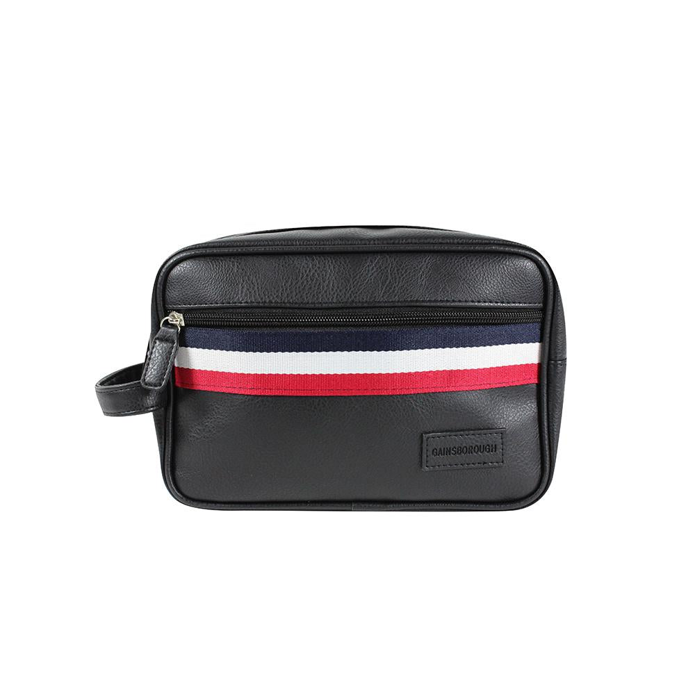 Sport Stripe Holdall with Side Handle - Black