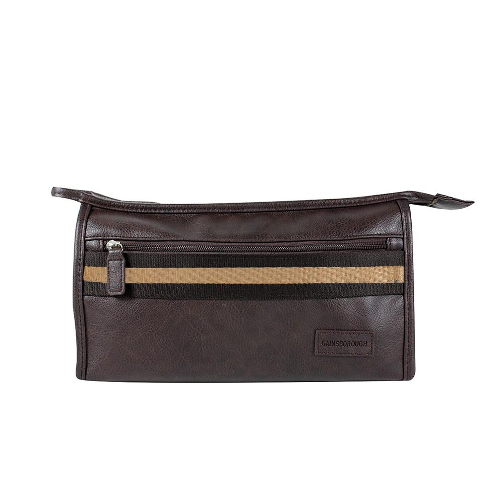Sport Stripe Holdall - Brown