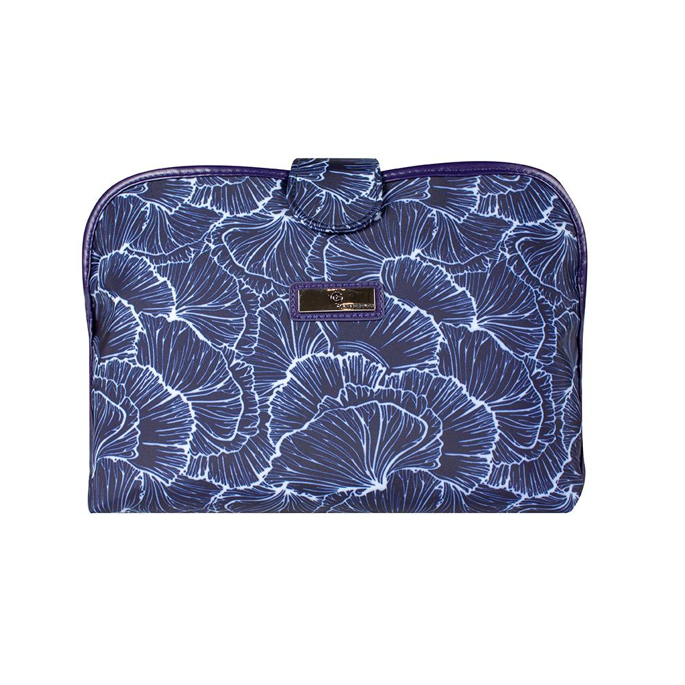 Scallop Clutch - Navy