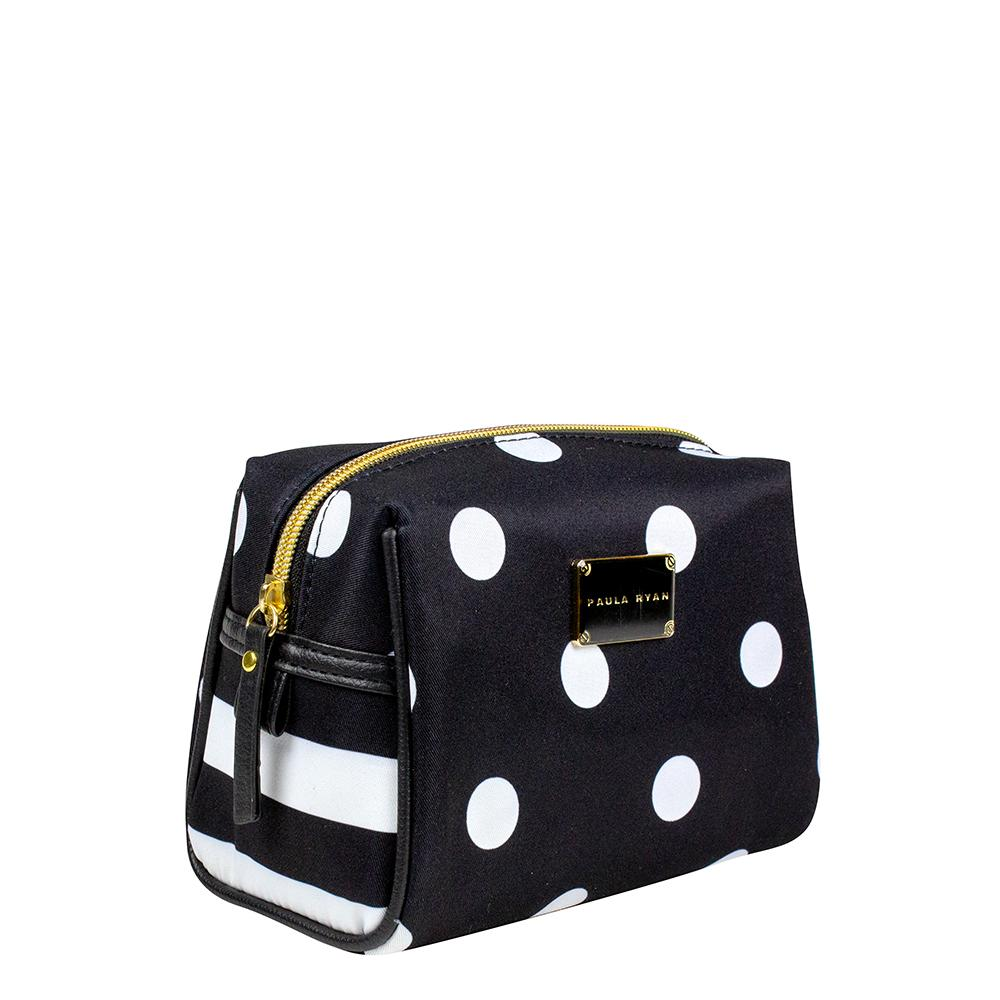 Paula Ryan Dots and Stripes - Cosmetic Puff