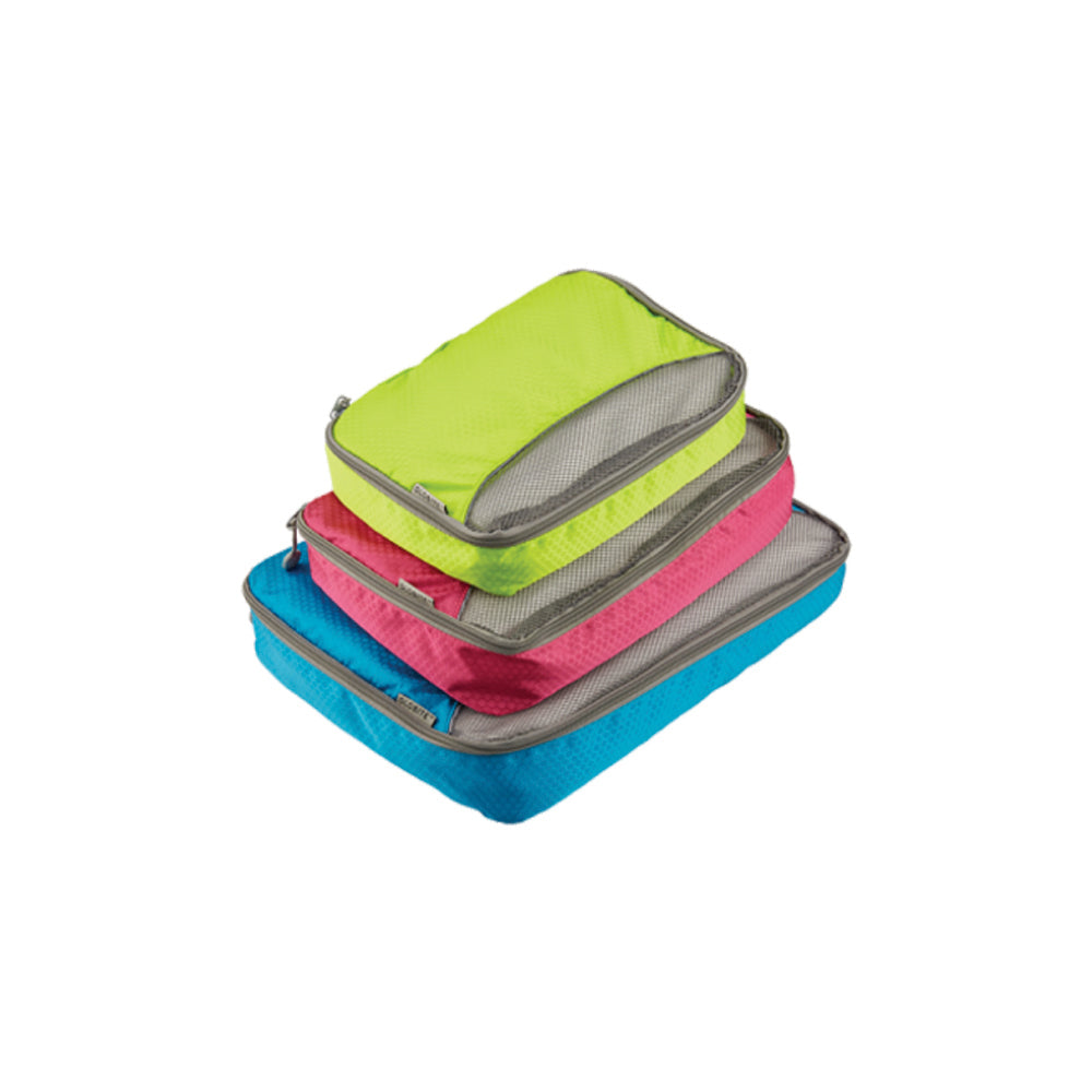 3 Piece Packing Cubes Assorted