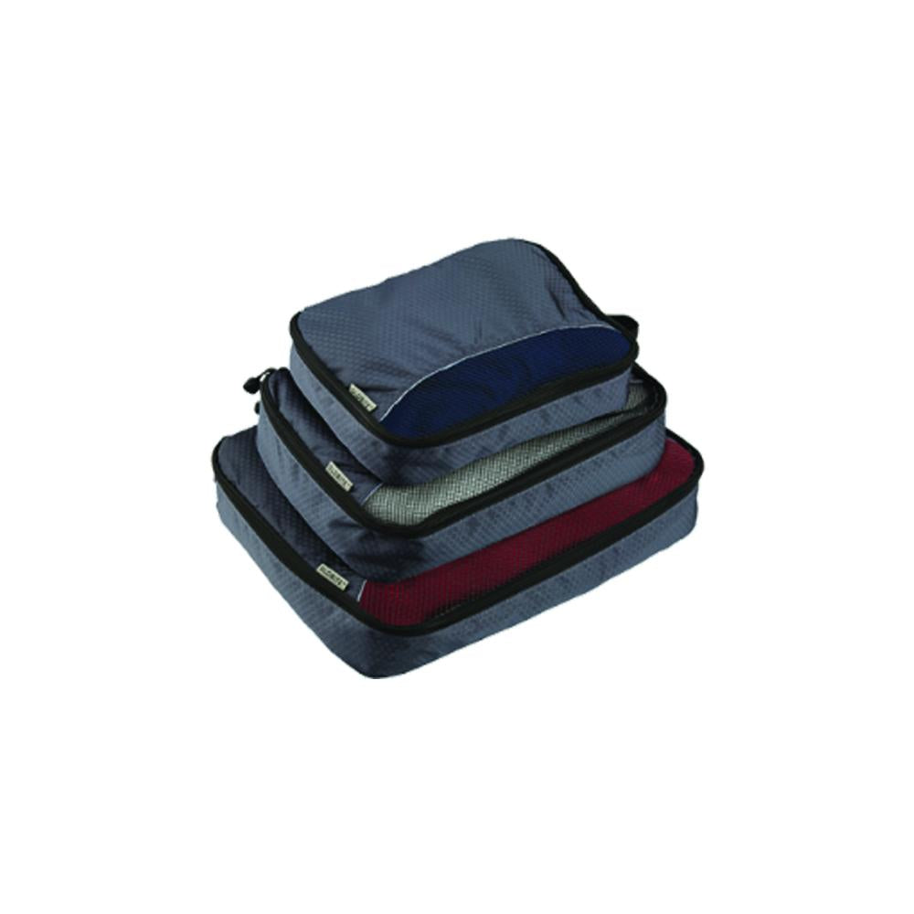 3 Piece Packing Cubes Black