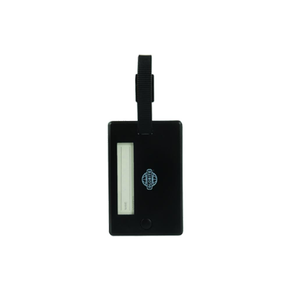 Swivel Luggage Tag 2pk Black