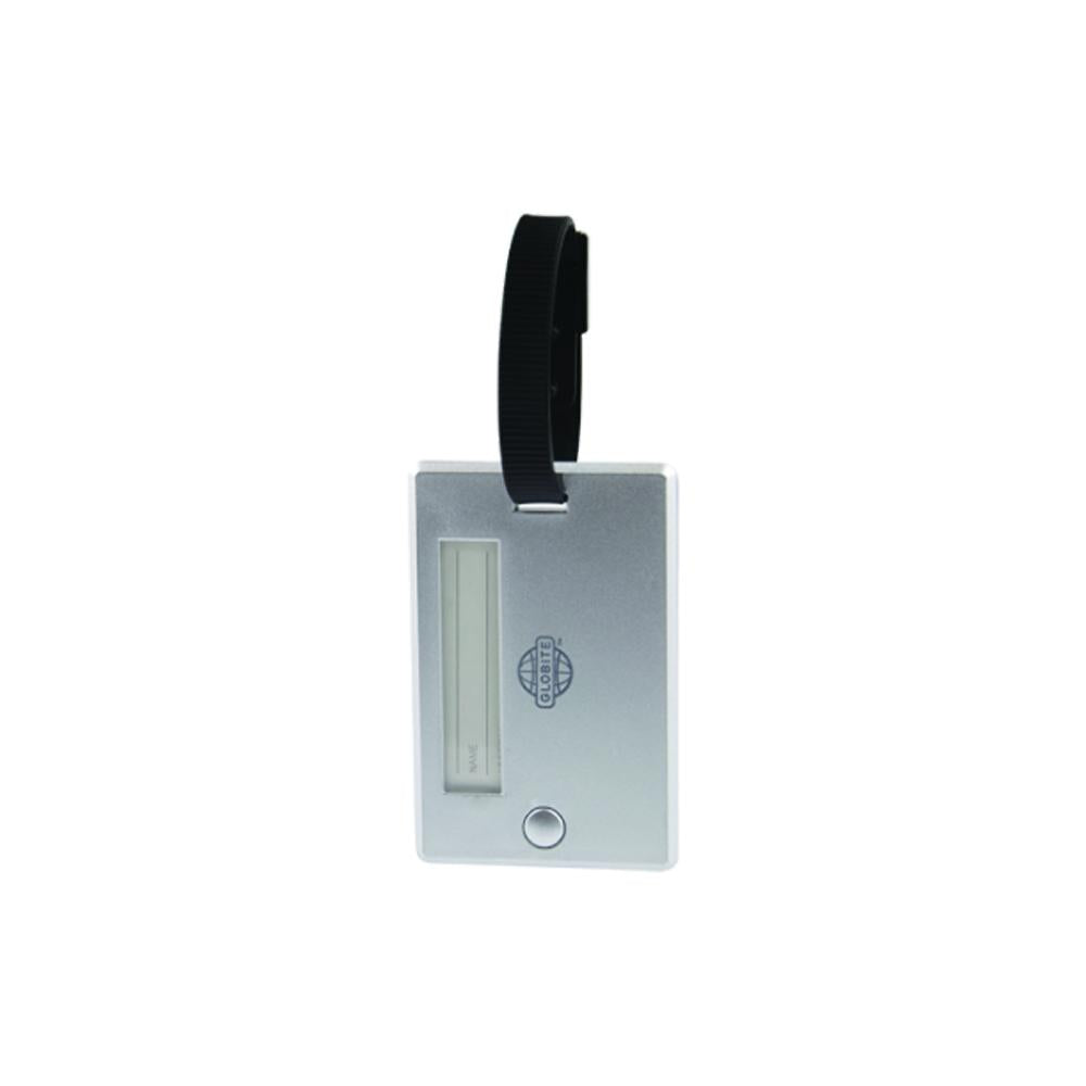 Swivel Luggage Tag 2pk Silver