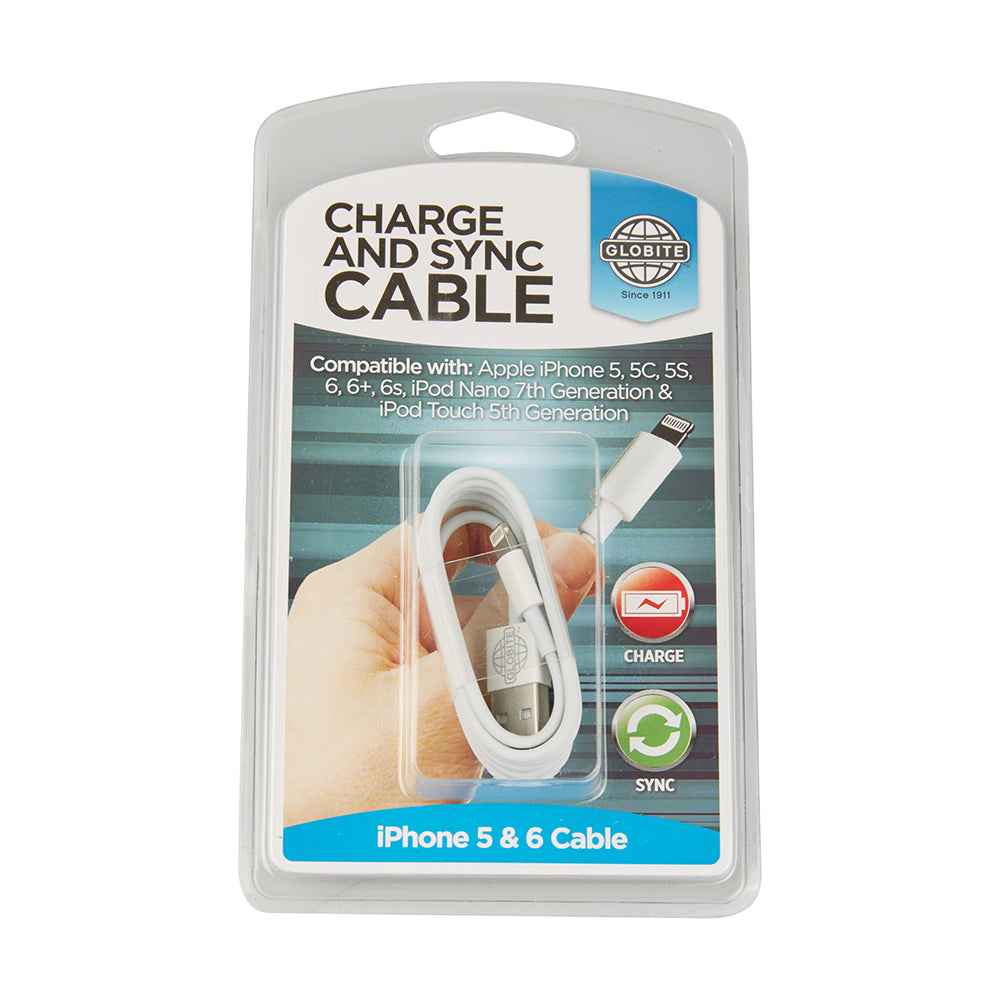 Charge & Sync Cable - iPhone 5 & 6
