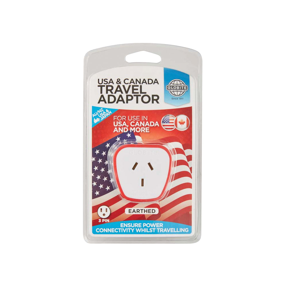 Outbound USA & Canada Travel Adaptor