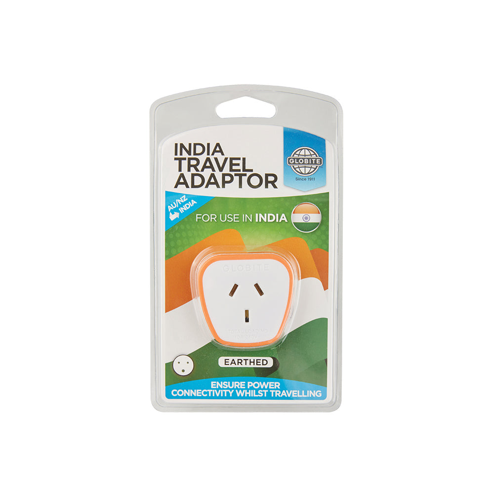 Outbound India Travel Adaptor