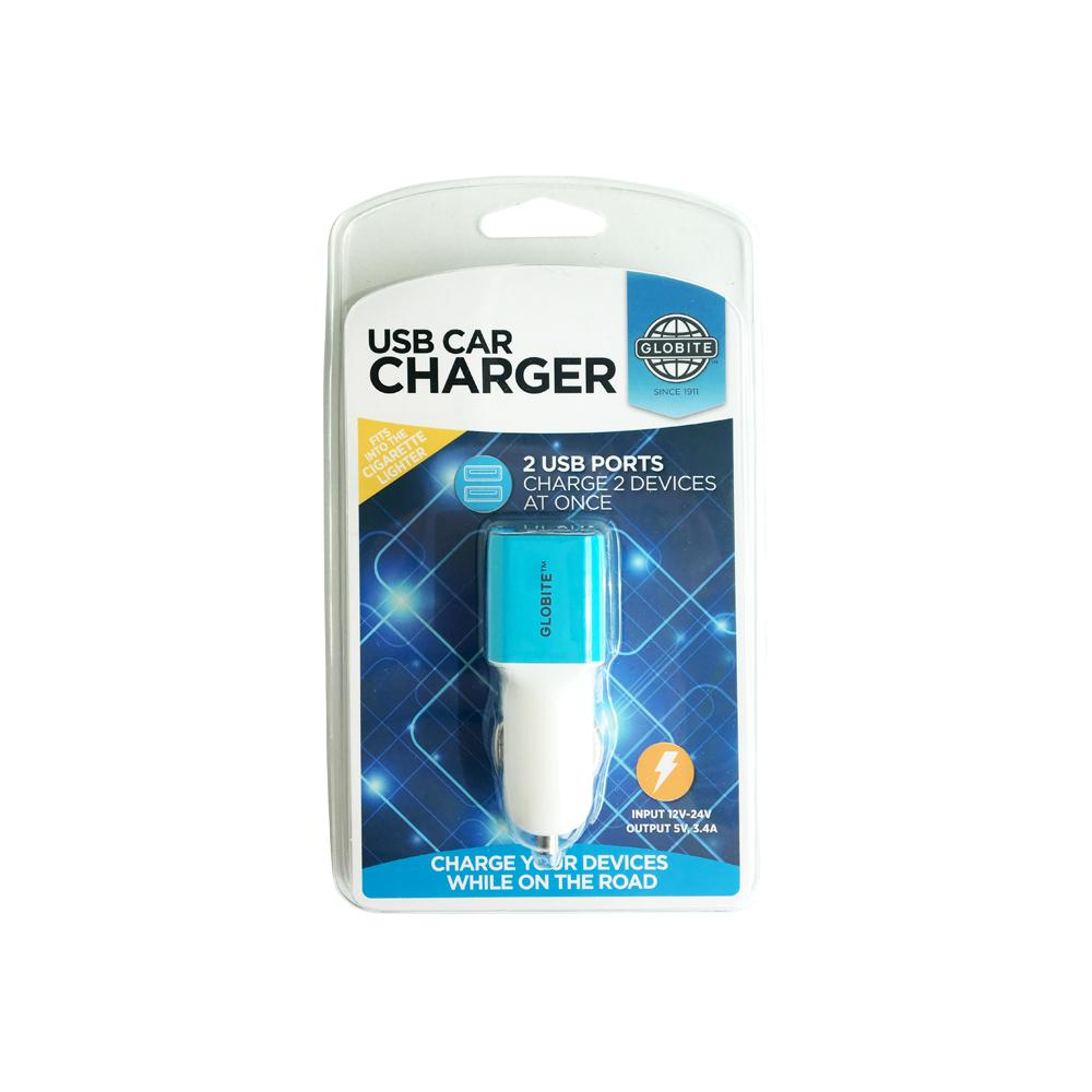 USB Car Charger 2 port
