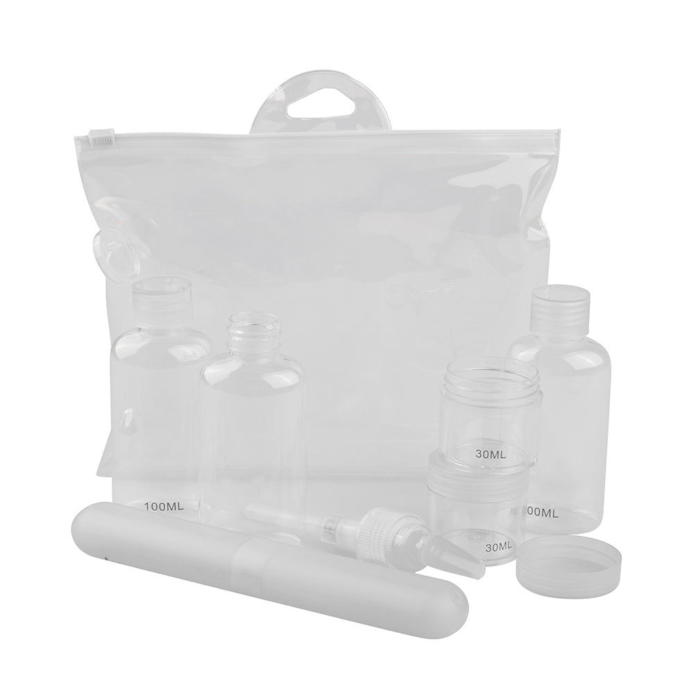 Travel Kit 7 Piece - Clear