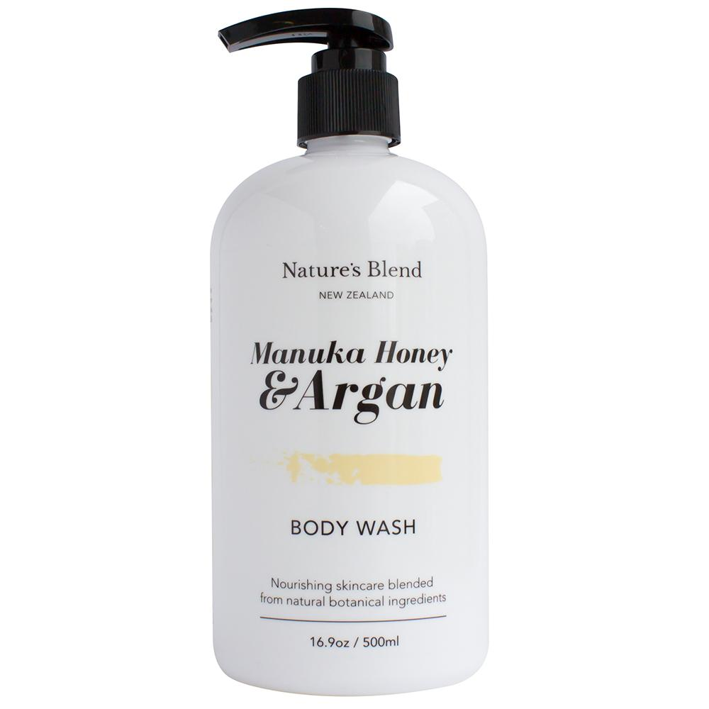 Natures Blend Body Wash Manuka Honey & Argan - 500ml