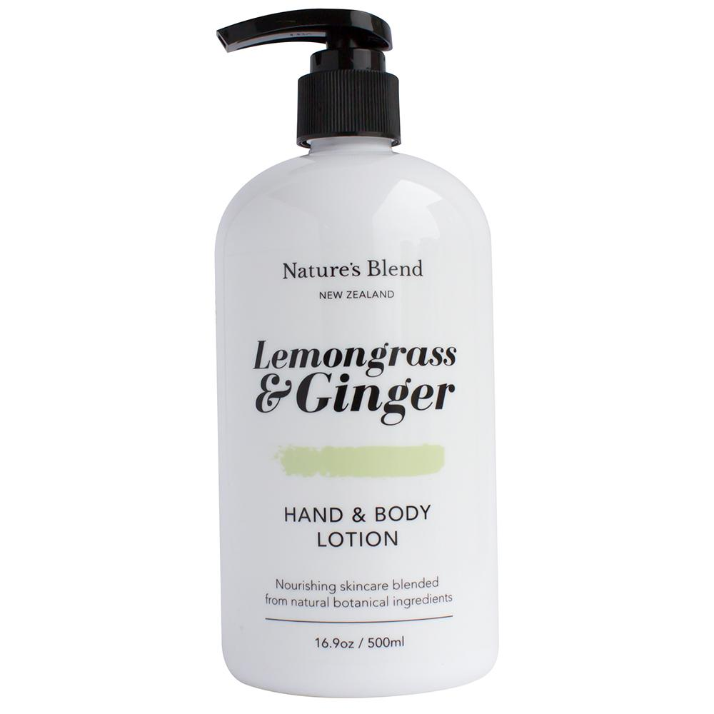Natures Blend Hand & Body Lotion Lemongrass & Ginger - 500ml