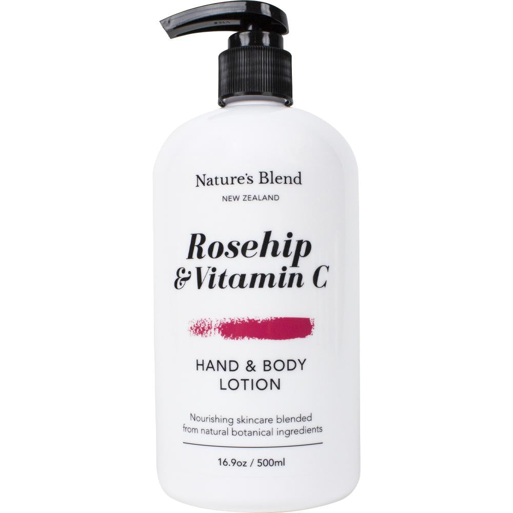 Hand & Body Lotion Rosehip & Vitamin C - 500ml