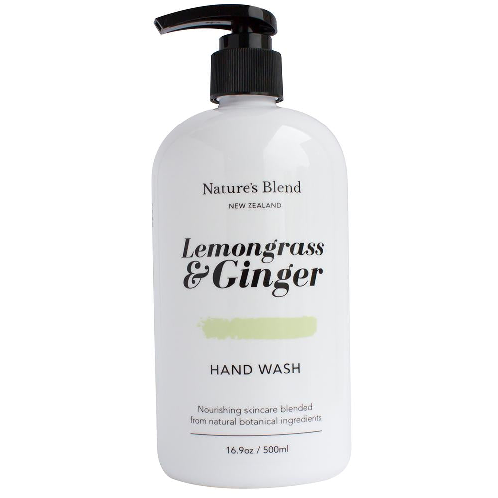 Natures Blend Hand Wash Lemongrass & Ginger - 500ml