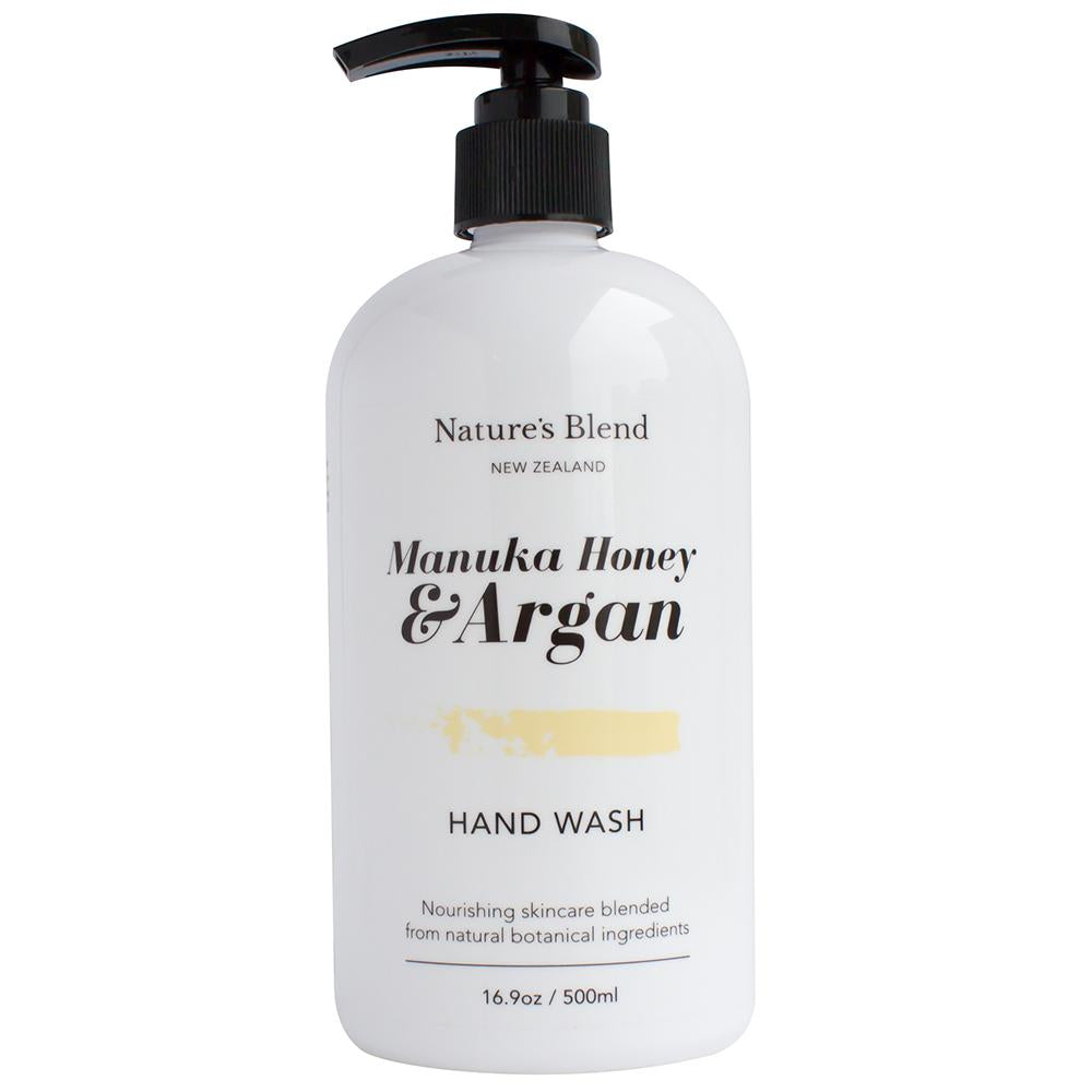 Natures Blend Hand Wash Manuka Honey & Argan - 500ml