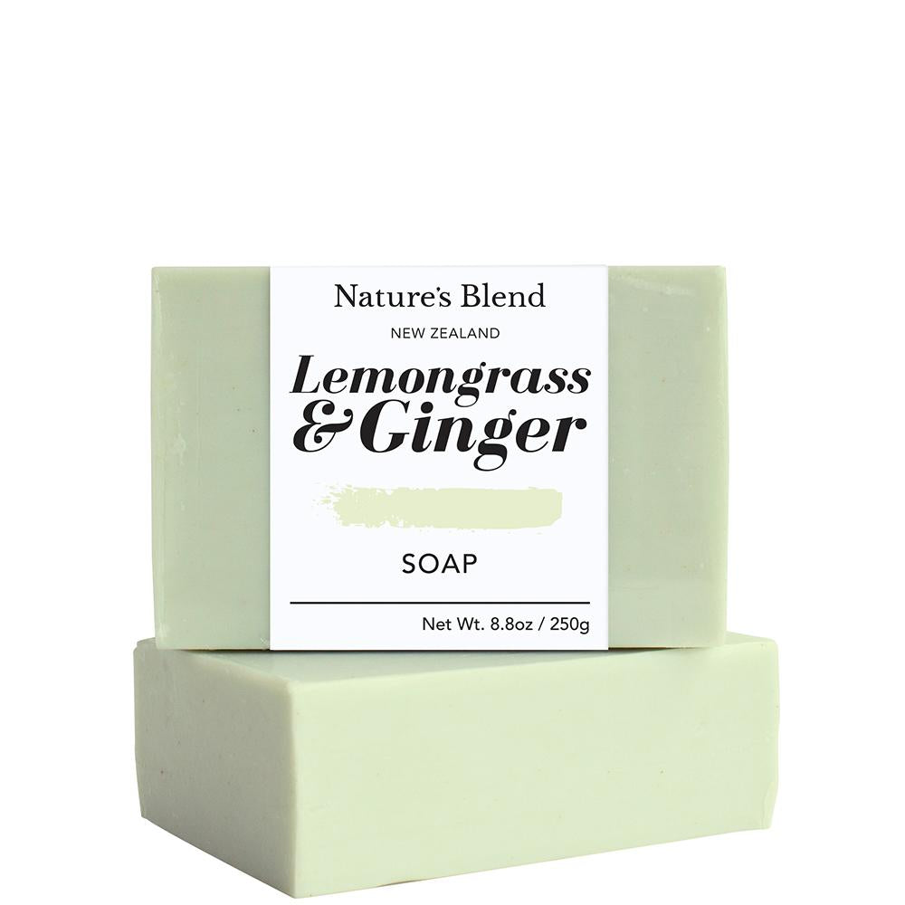 Natures Blend Soap Bar Lemongrass & Ginger - 250g