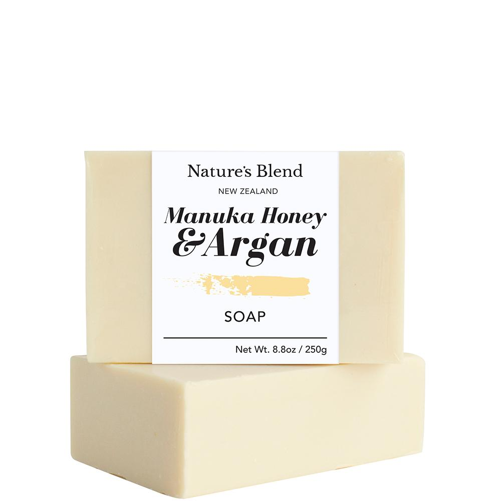 Natures Blend Soap Bar Manuka Honey & Argan - 250g