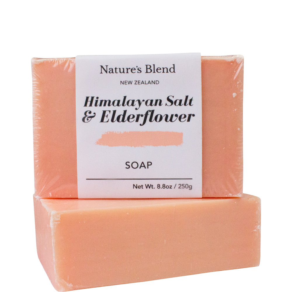Nature's Blend Soap Bar Himalayan Salt & Elderflower - 250g