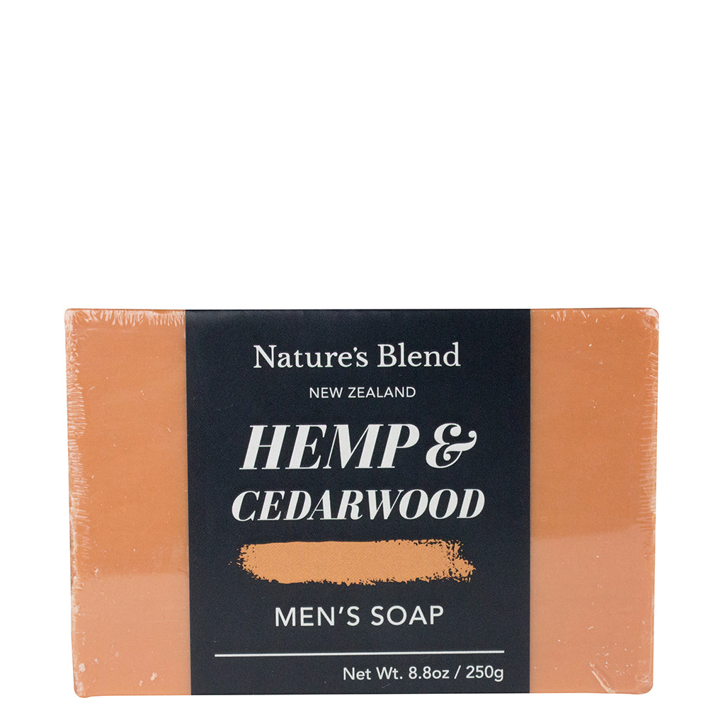 Nature's Blend Soap Bar Hemp & Cedarwood - 250g