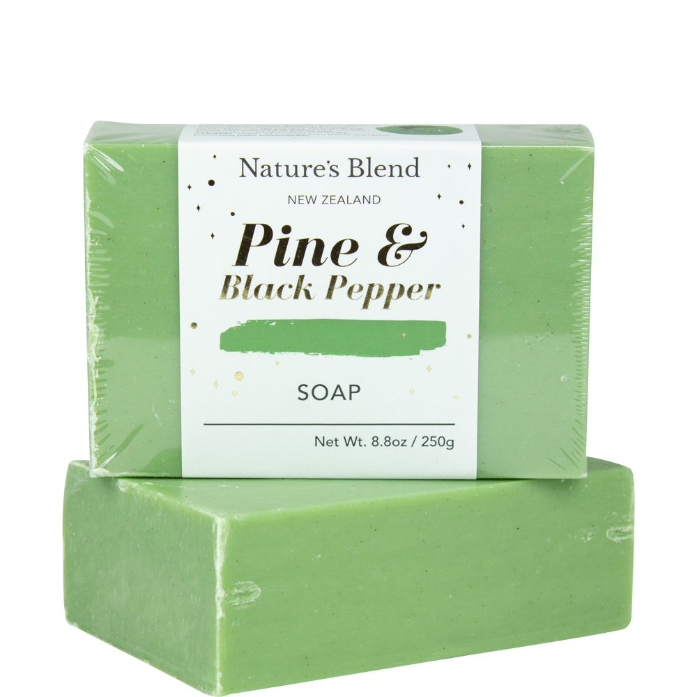 Nature's Blend Pine & Black Pepper 250G Bar Soap