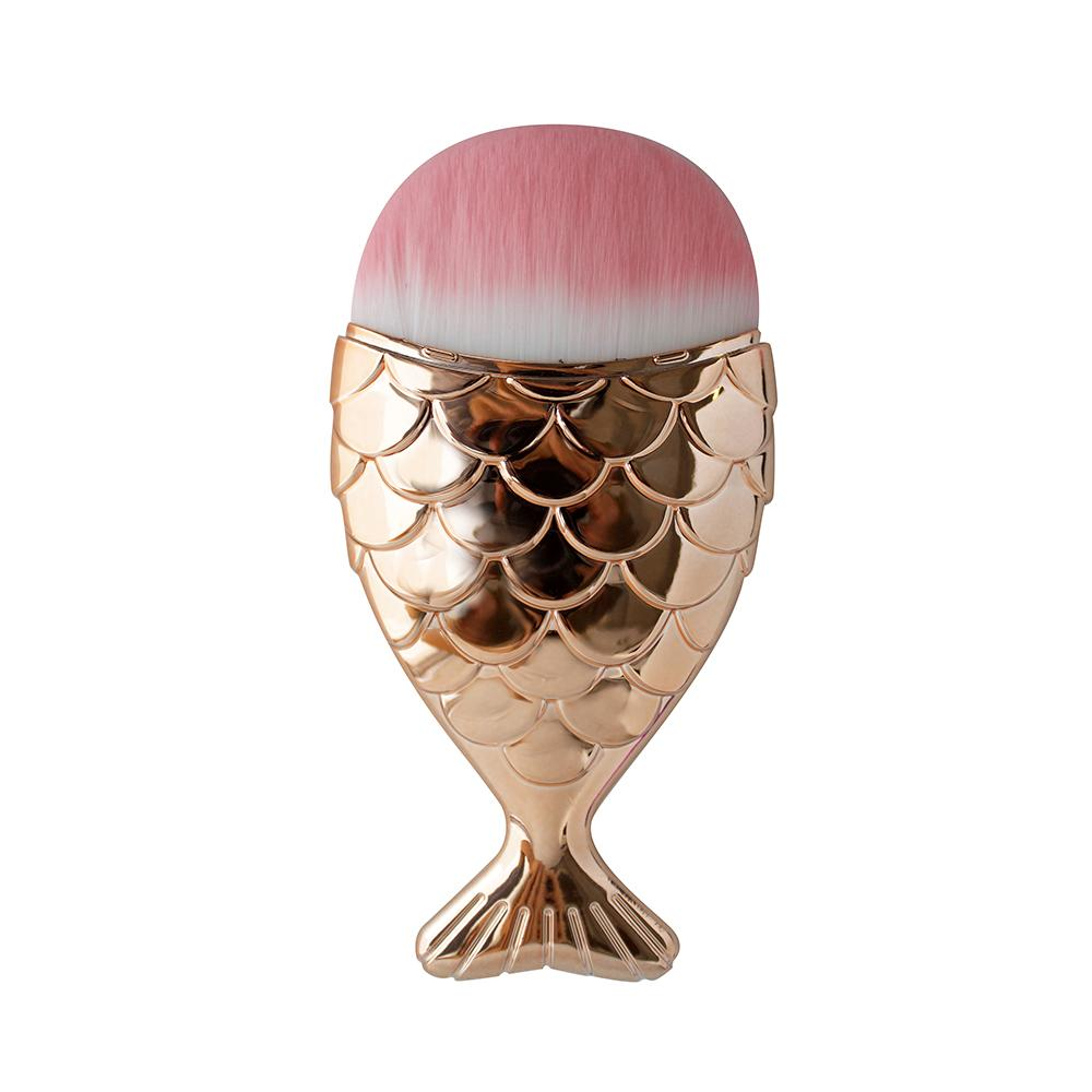 Mermaid Contour Brush - Rose Gold