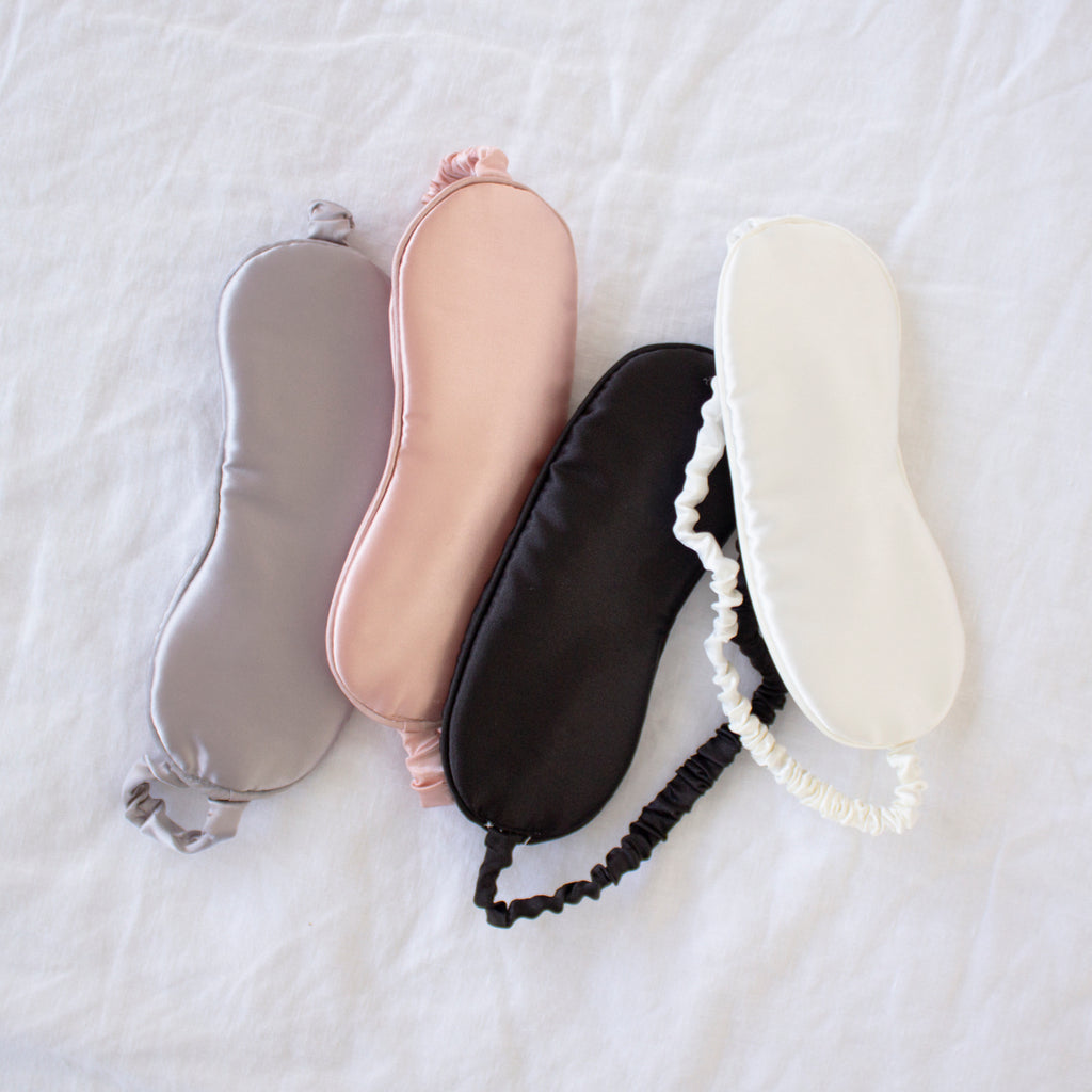Satin Eye Mask Pink