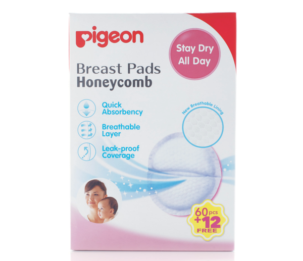 Breast Pads Honeycomb 60pc