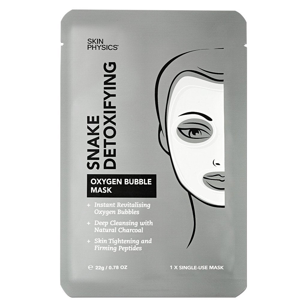 Skin Physics Snake Detoxifying Oxygen Bubble Mask