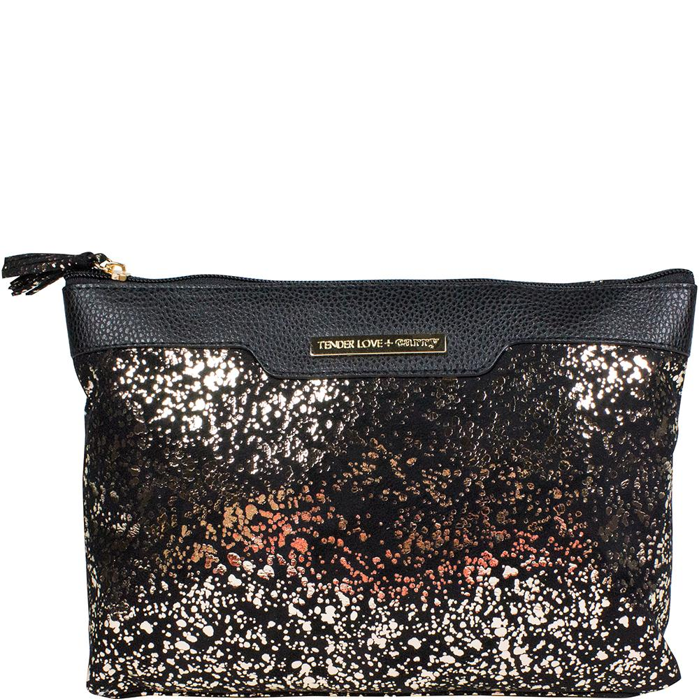Metallic Splatter - Holdall Gold