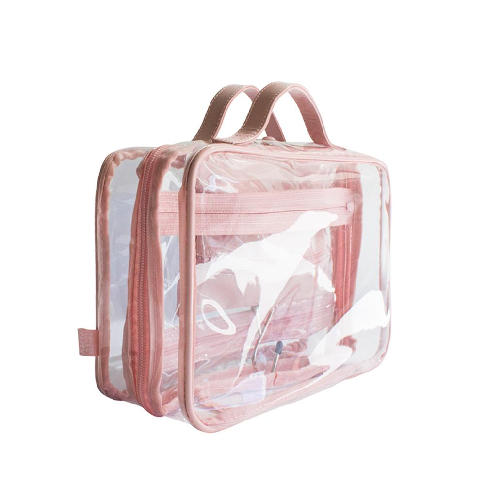 Crystal Hanging Washbag - Blush