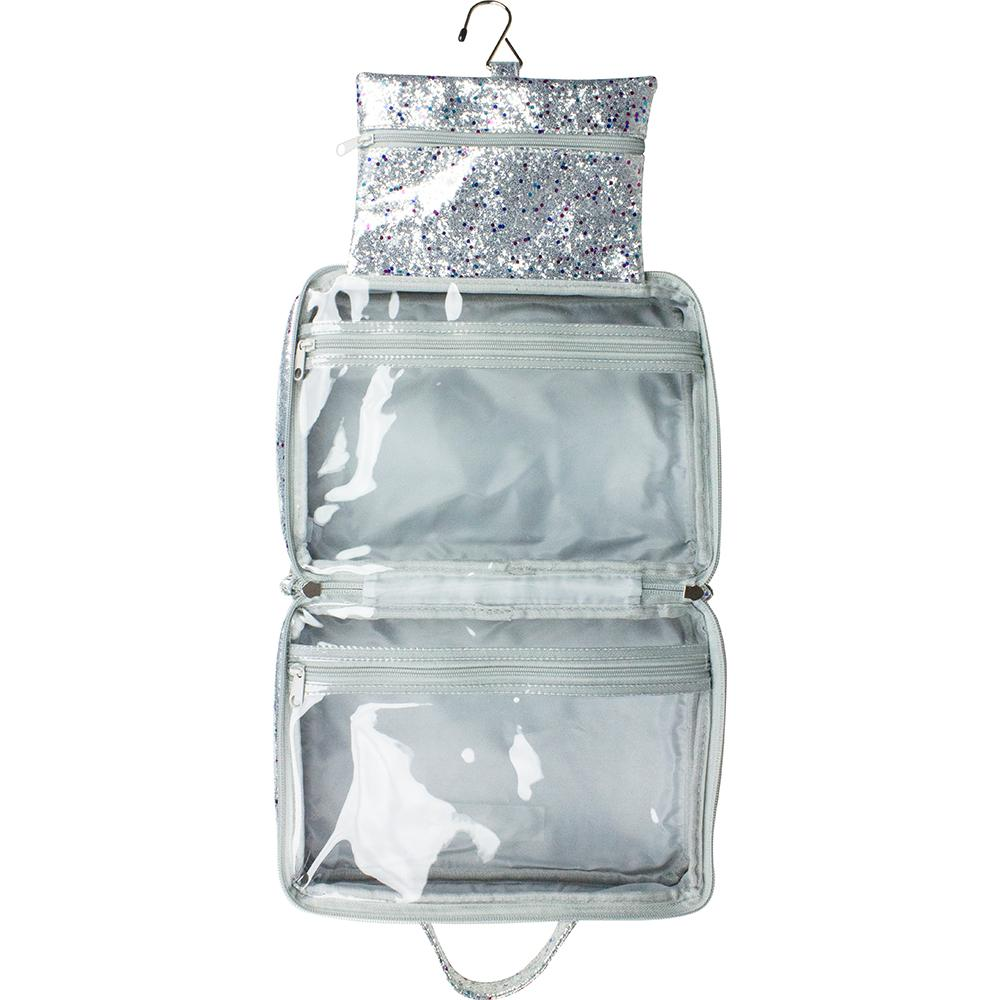Multi Glitter - Hanging Washbag