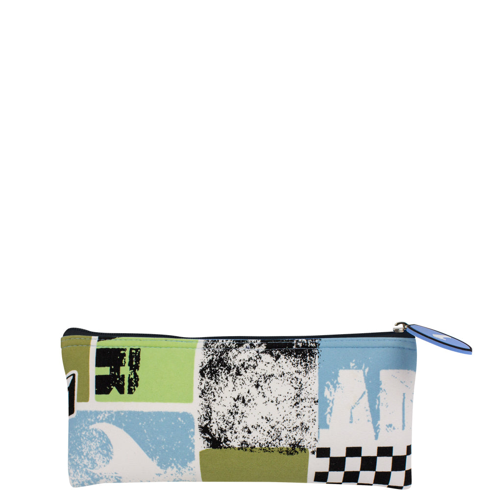 Breaking Waves Flat Pouch