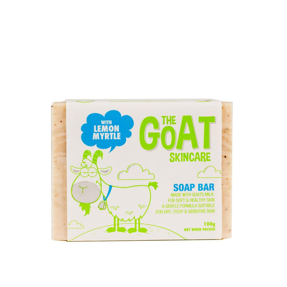 The Goat Skincare Soap Bar with Lemon Myrtle