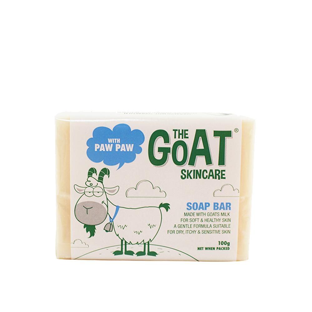 The Goat Skincare Soap Bar with Paw Paw
