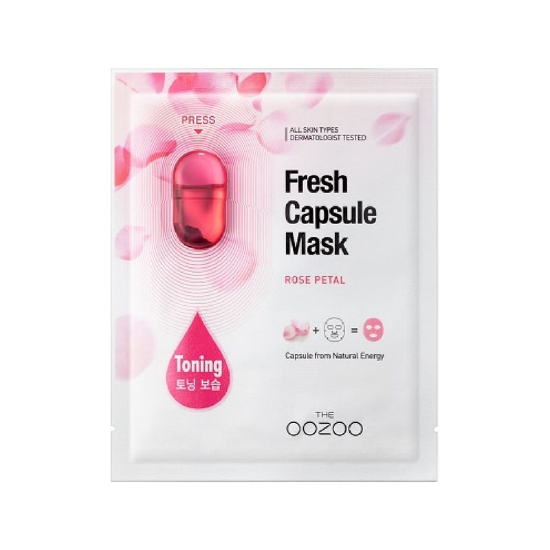 OOZOO Fresh Capsule Mask Rose Petal