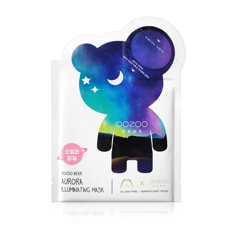 OOZOO Bear Aurora Illuminating Mask
