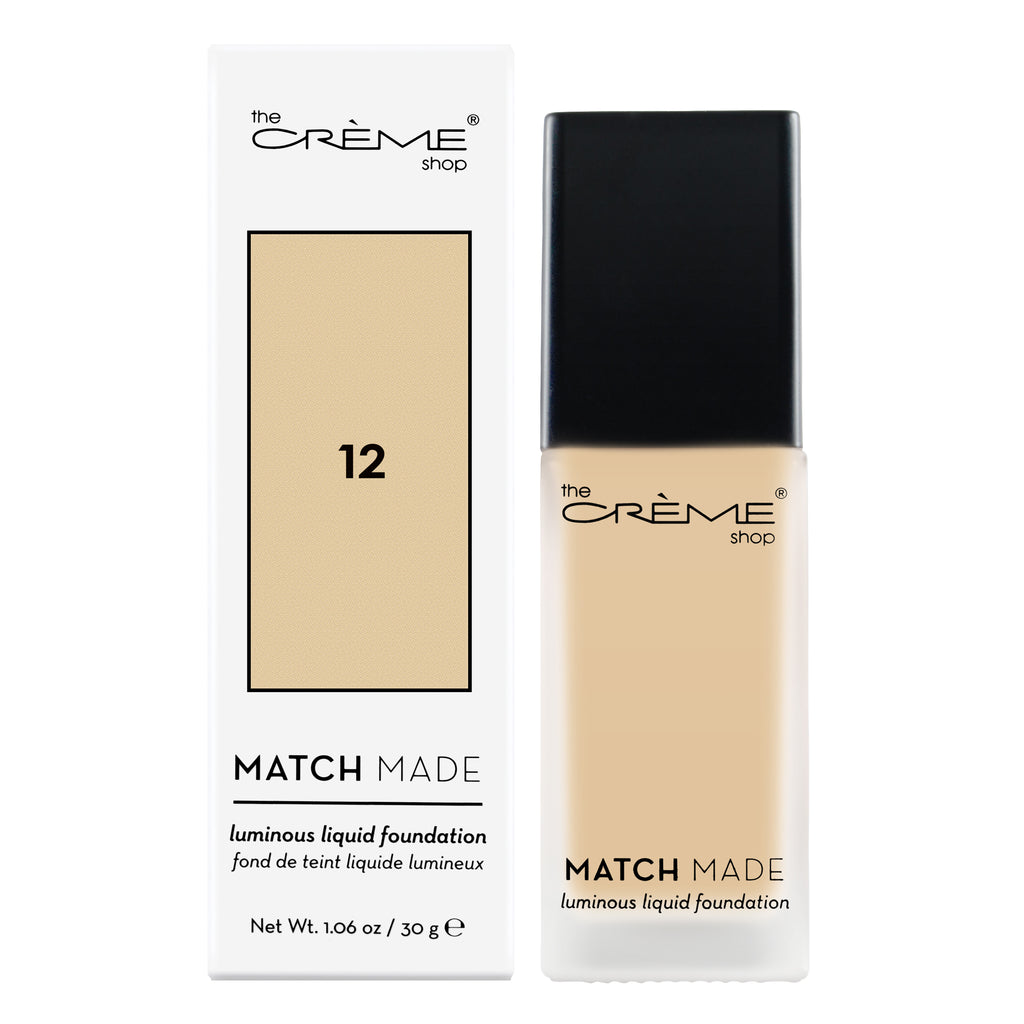 Match Made Foundation Shade 12