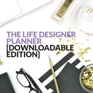Life Designer Planner [Digital Download]