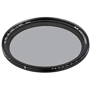 B+W 46mm XS-Pro Digital Vario ND with Multi-Resistant Nano Coating, Black
